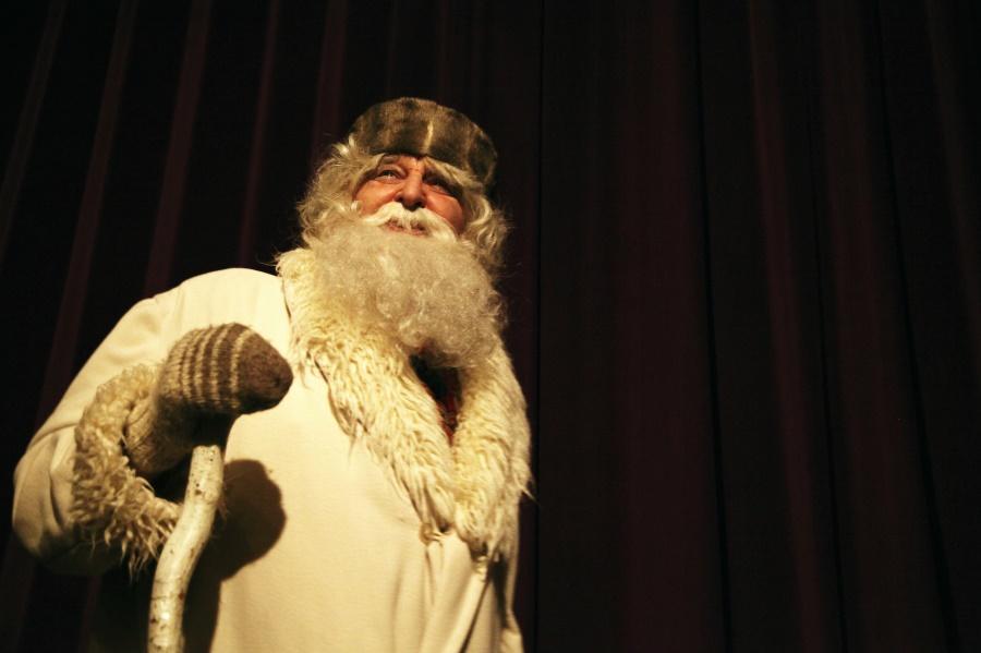 Gledališka predstava in pozdrav dedka Mraza za otroke Občine Komen